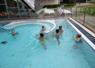 Schulschwimmen 1. Semester 3